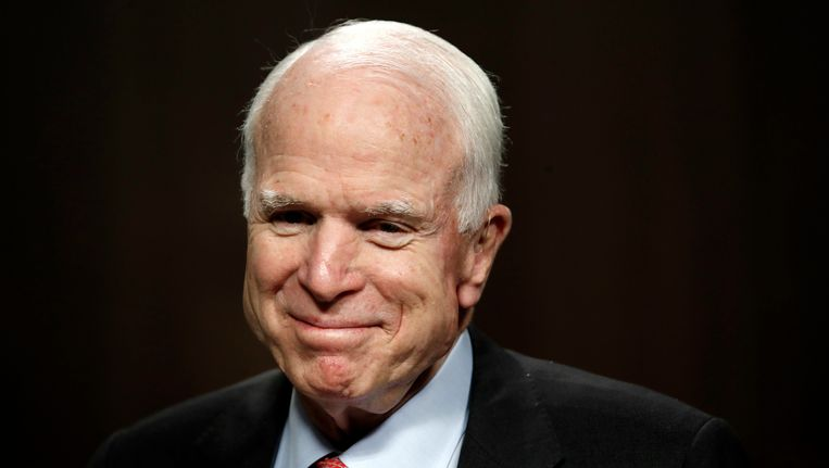 Senator John McCain Beeld ap