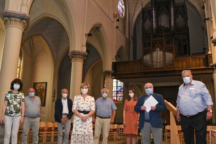 Orgelkring Adriaen Willaert maakt zich op voor hun orgelfestival.