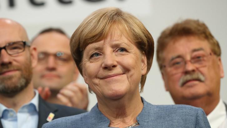 Merkel verliest zetels, maar blijft wel aan als Bondskanselier