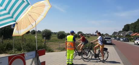 Drukte langs de Rijn bij Wageningen en Rhenen, maar geen buitensporige gekte