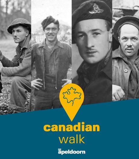 Persoonlijke verhalen van Canadese veteranen en Apeldoorners in audiotour Canadian Walk