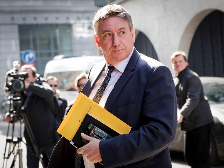Vlaams minister-president en cultuurminister Jan Jambon houdt zich niet alleen bezig met de coronacrisis. Zijn nieuwe visienota Kunsten is goedgekeurd door het parlement.  Beeld EPA