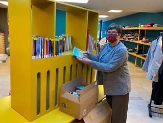 Verkoop van afgeschreven bibliotheekboeken via sociale kruidenier De Scharnier