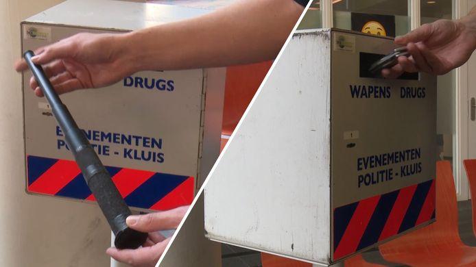 De landelijke actie om (steekwapens in te leveren in de week van 11 tot en met 17 oktober gaat aan Oost Nederland voorbij.