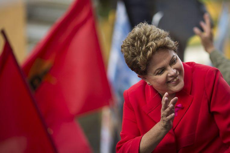 Dilma Rousseff. Beeld ap