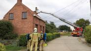 Brandweer kan erger voorkomen bij schouwbrand aan Spaans Fort