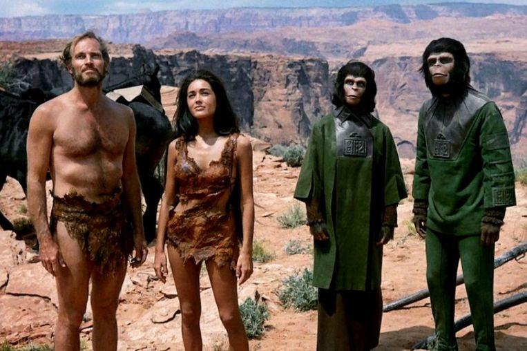 De originele 'Planet of the Apes'. Beeld rv
