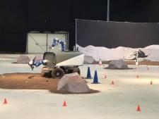 Robotauto in Valkenburg vanuit de ruimte bestuurd