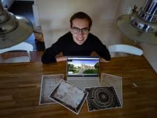 Jan-Willem (19) maakte met vrienden een escaperoom die zich afspeelt in Zwolle