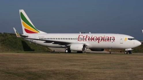 Een Boeing 737 zoals deze van Ethiopian Airlines crashte kort na het opstijgen in Beiroet in zee.
