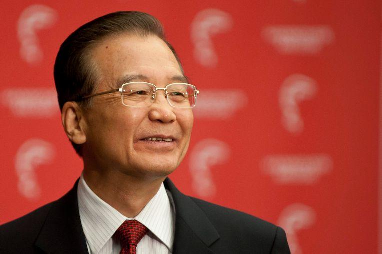 Oud-premier van China Wen Jiabao. Beeld REUTERS