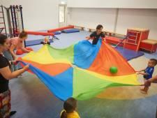 Guppiegym: balanceren, klimmen en klauteren voor peuters en ouders