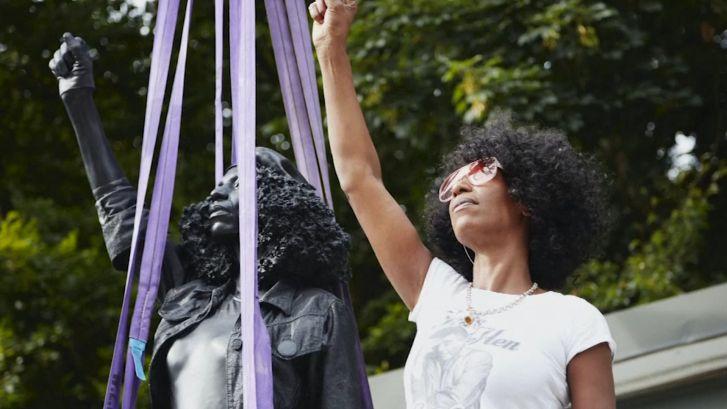 Standbeeld van Black Lives Matter-activiste vervangt beeld van slavenhandelaar