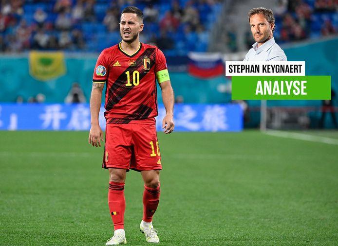 Eden Hazard speelde al mee tegen Rusland.