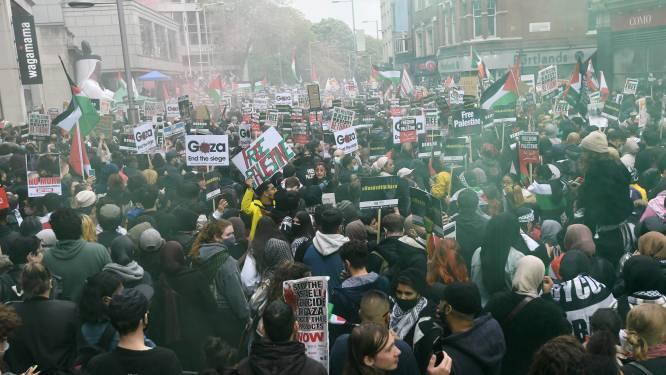 Betogingen over de hele wereld tegen Israëlische aanvallen op Gaza