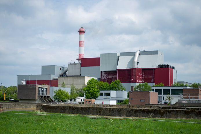 Afvalverwerkingsbedrijf ISVAG in Wilrijk.