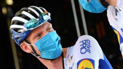 """Weinig rust voor Tim Declercq op eerste rustdag in Ronde van Frankijk: """"Geen bezoek aan koffiebar wegens coronatests"""""""