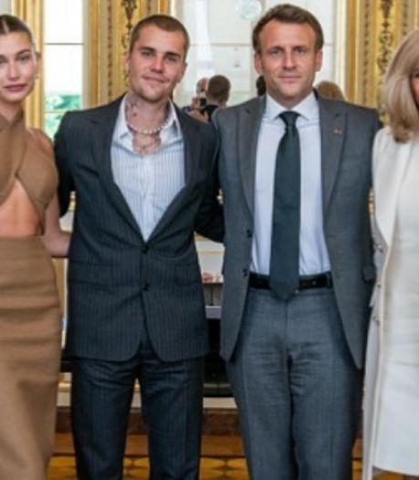 Justin Bieber et Emmanuel Macron: la rencontre inattendue