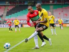 NECbeantwoordt liefdesverklaring van supporters buiten stadion niet: roemloos onderuit tegen NAC