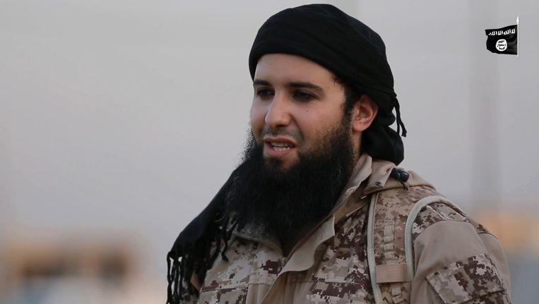 De beruchte IS-ronselaar Rachid Kassim. Beeld AFP
