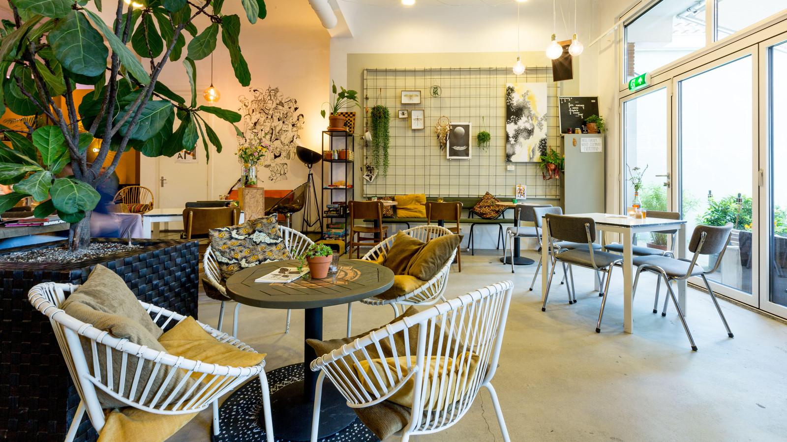 Vegetarisch restaurant Broei scoort erg goed op dierenwelzijn.