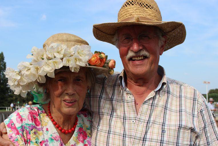 Christine Isebaert  leerde haar man Roland Claus 50 jaar geleden kennen op Waregem Koerse.
