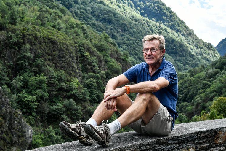 """Wielerfreak Van Overtveldt trok naar de Pyreneeën om aan te knopen met een jaarlijkse traditie: een Tourcol beklimmen. Twéé zelfs, deze keer: de Soulor en de Aubisque. """"2 uur en 10 minuten, sneller dan verwacht."""""""
