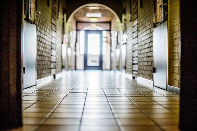 De gesloten jeugdinstelling De Zande in Beernem. Beeld Diego Franssens