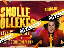 Snollebollekes in Gelredome binnen anderhalf uur uitverkocht, overleg over extra show