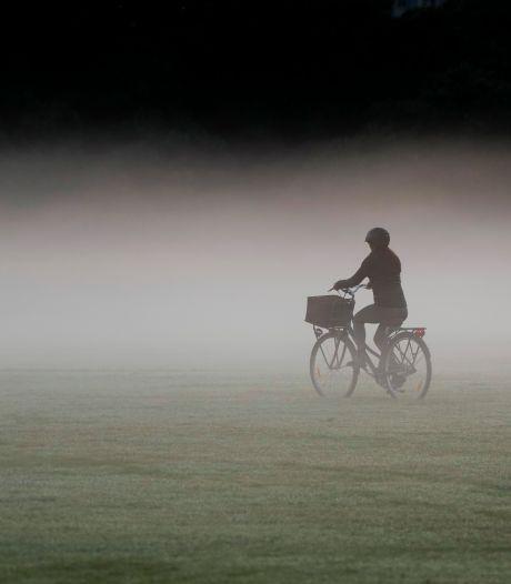 Code geel in noorden en oosten van het land vanwege dichte mist