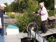 Nieuwe fietsboot in Loosdrecht vanaf zaterdag in gebruik