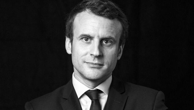 'In economisch opzicht is Macron een liberaal. Daarom wordt hij ook gewantrouwd.' Beeld getty