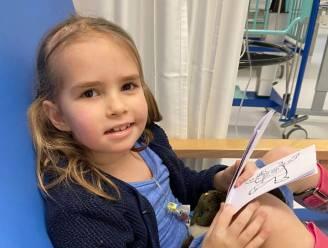 """Familie en vrienden zamelen geld in voor ongeneeslijk zieke Febe (7): """"Zodat ze haar grootste dromen nog kan waarmaken"""""""