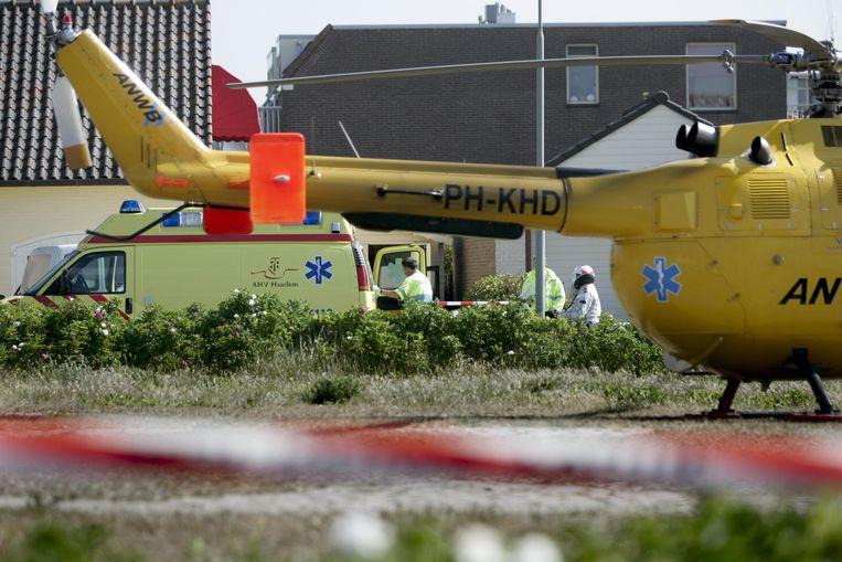 Op 28 mei 2004 werd een tweede moordaanslag Gijs van Dam junior alsnog fataal, nadat die net klaar was met zijn loodzware revalidatie. Beeld Hollandse Hoogte /  ANP