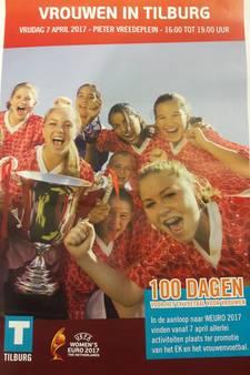 Tilburg draait warm voor EK vrouwenvoetbal