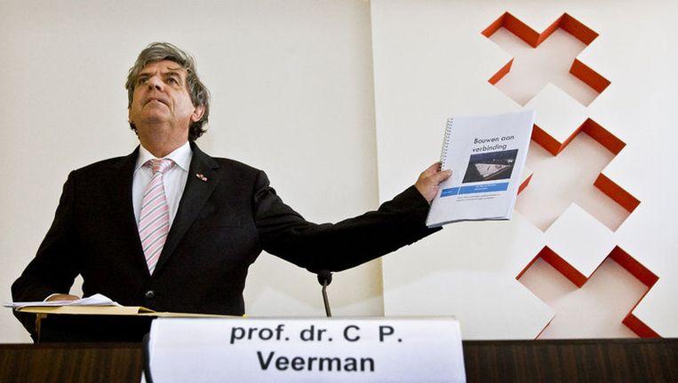 Cees Veerman acht het voor 95 procent zeker dat de lijn met een half miljard extra kan worden afgebouwd. Foto ANP Beeld