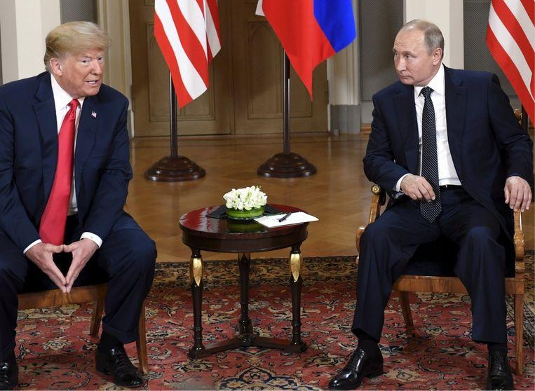 'Trumps visie op de wereld verschilt dag en nacht met die van Poetin. Hij bewondert hem helemaal niet.' Beeld belgaimage