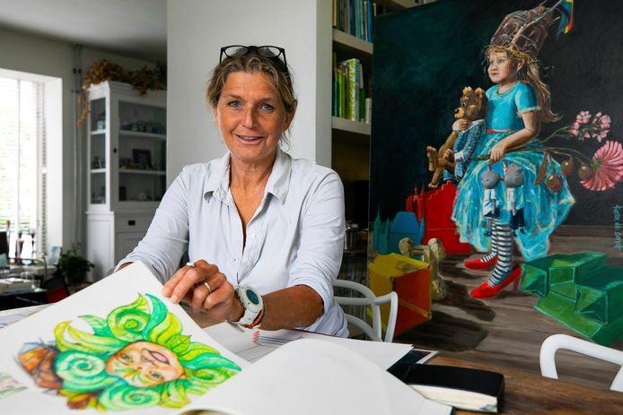 Karen de Bondt, kunstenares uit Zaltbommel.