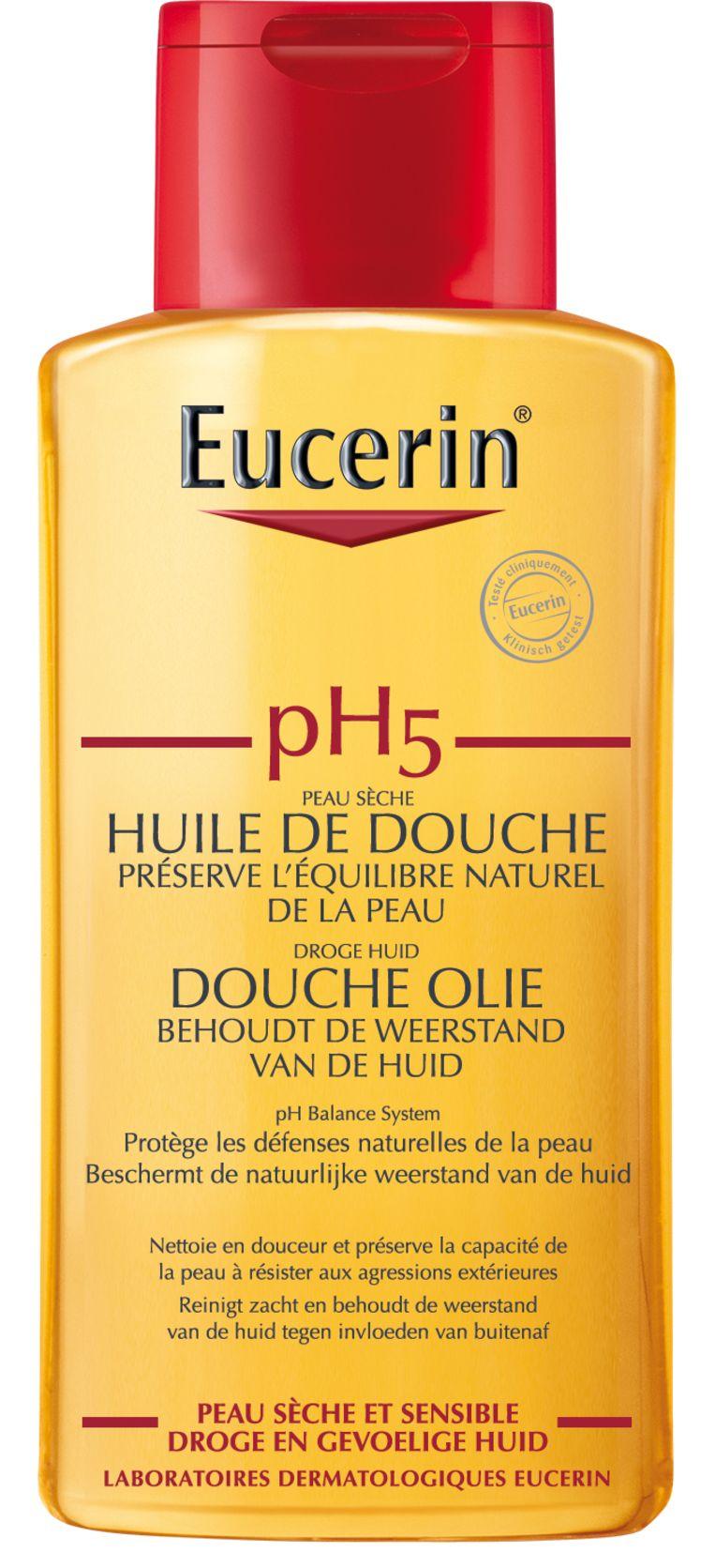 Eucerin, pH5-doucheolie 200 ml, 11,50 euro  Beeld RV