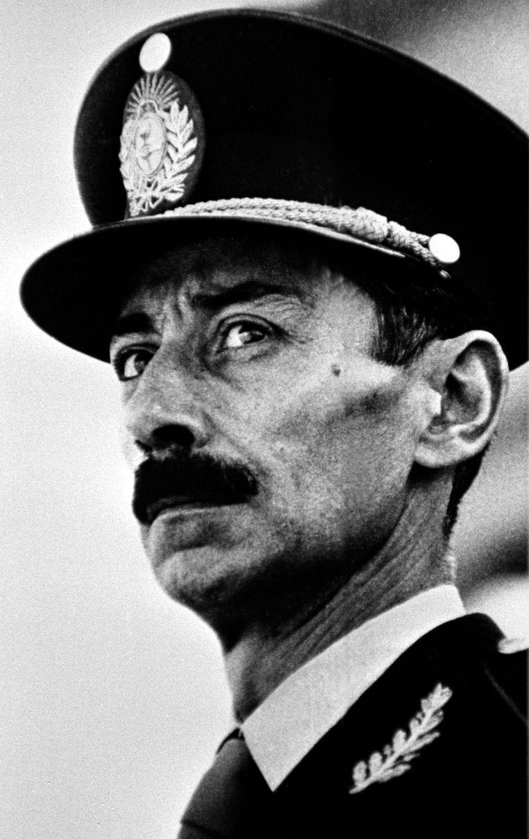 Jorge Rafael Videla in 1976. Beeld REUTERS