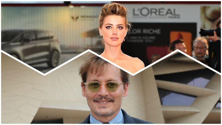 Amber Heard en Johnny Depp scheidden in augustus 2016.