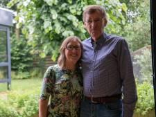 Meneer en mevrouw Van Straaten uit Liessel zijn uitgedokterd