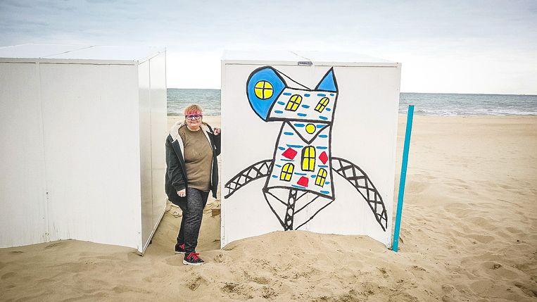 Het werk 'Eternity Church' van Gloria Romberg uit Oostende