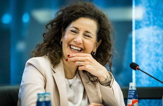 Minister Ingrid van Engelshoven (Onderwijs, Cultuur en Wetenschap).