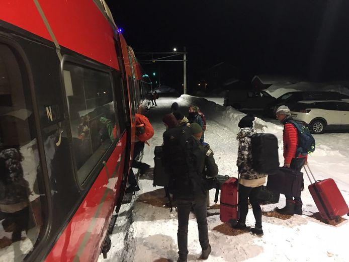 Nederlandse reizigers in Noorwegen.