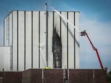 Zeer grote brand bij oude kerncentrale in Dodewaard onder controle: geen risico op vrijkomen radioactieve straling