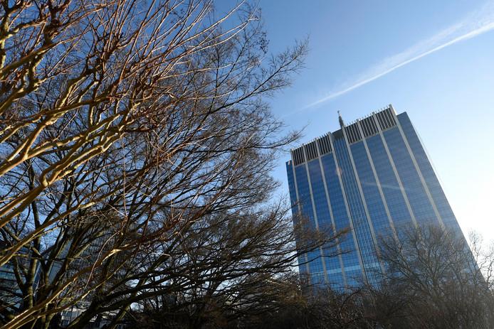 La Tour des Finances à Bruxelles.