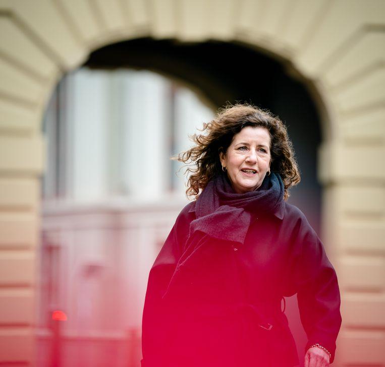 Minister Ingrid van Engelshoven van Onderwijs, Cultuur en Wetenschappen (D66). Beeld ANP