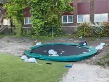 Opnieuw ravage aangericht in Lochem: plein bij kinderdagverblijf vernield