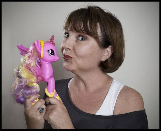 Melise de Winter is Miss My Little Pony.